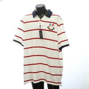 Ralph Lauren Mens Polo XXL Patriotic Collar